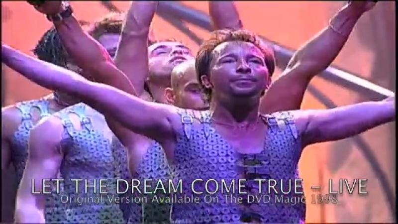 DJ BoBo - Let The Dream Come True (Live Concert 90s Techno-Eurodance 1998)