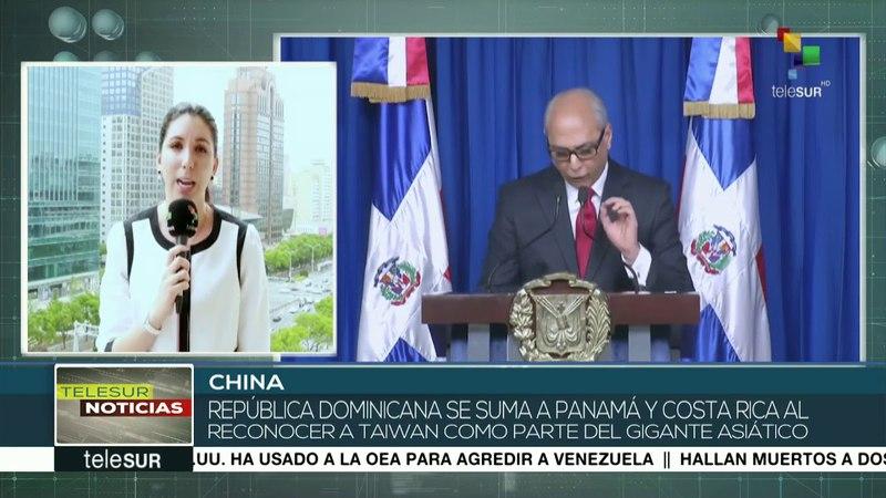 China establece relaciones diplomáticas con República Dominicana