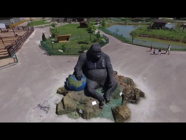 Зоопарк 'Планета Обезьян' monkeyplanet.moscow