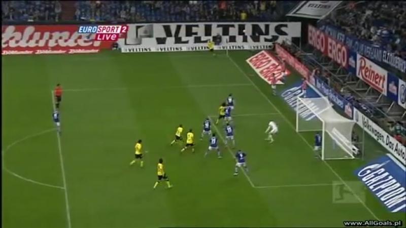 Первый гол Левандовски в Бундеслиге