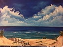 How to paint the beach with dune's (acrylic)