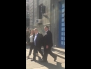 This image of Harvey Weinstein being walked in handcuffs by a female detective is what justice looks like. MeToo - -