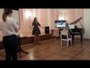 Полина Кохнович Светлана Швырова Выступление в Библиотеке