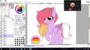 [SPEEDPAINT MLP] Gift for Rainbow_Vika (Referance)