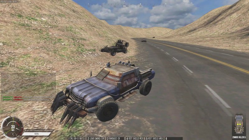 Infestation: The NewZ : Funny car race [HIGH] clan xD