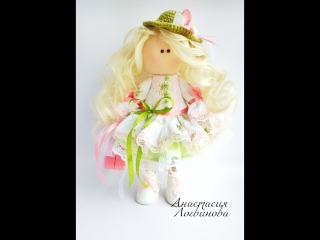 Видео обзор куколки Барышня