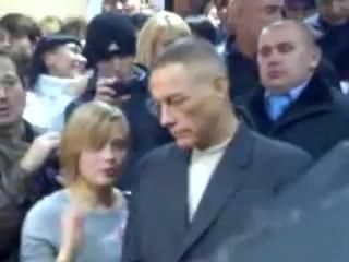 ЖанКлод ВАнДам в Кривбассе