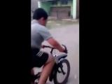 Когда первый раз сел на велосипед