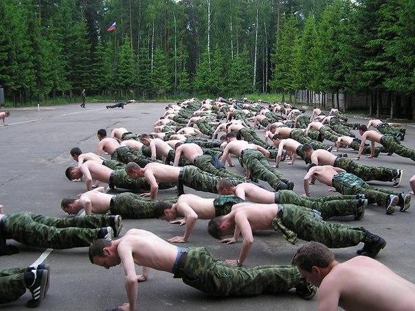 Лишний вес армия