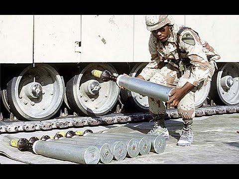 Dégats des munitions à uranium appauvri