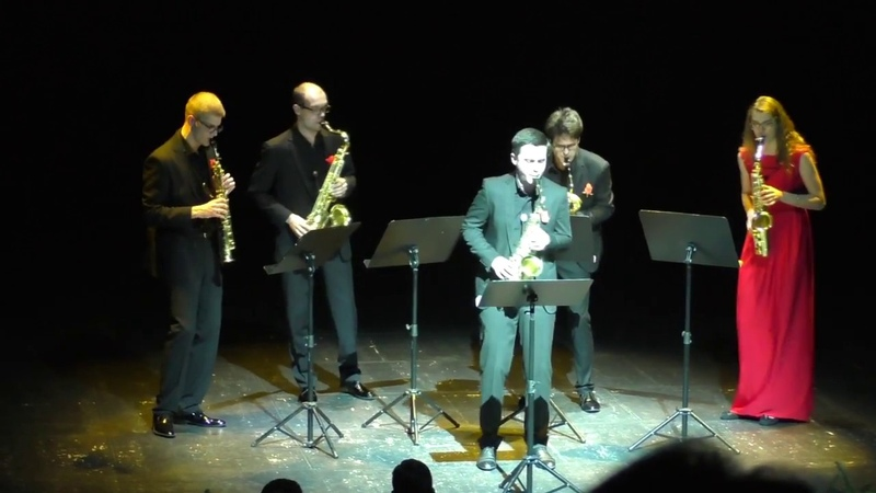 Ad Libitum Saxophone Quartet Milonga Picaresque