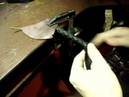 ПЛЕТЕНИЕ НАГАЙКИ ИЗ КОЖИ Изготовление основы нагайки Часть 1 Making the nitty gritty little whip