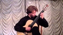 Moreno Torroba Sonatina in A 2nd and 3th mouvement Mikhail Rakin Guitar