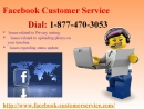 Post your latest selfies on FB via Facebook Customer Service 1-877-470-3053