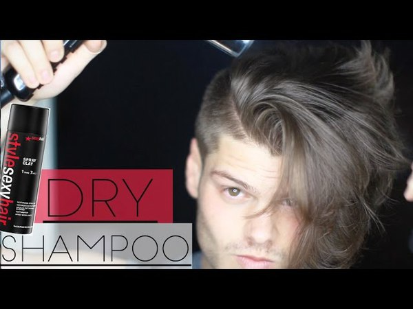 How to Use Dry Shampoo - Men's Hair Tutorial