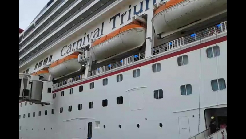 Посадка на Cranival Triumph (24.10.2015)