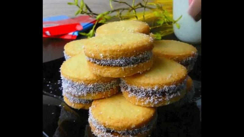 Печенье Нежное со сгущёным молоком KulHit Кулинарные хитрости