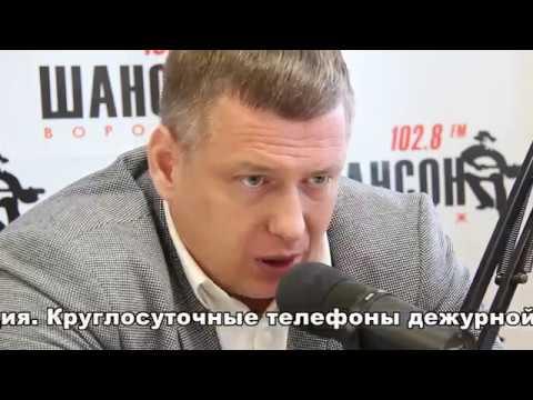 Олег Рукавицын в программе Открытый разговор 11.04.2018г.