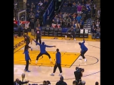 Steph hit the super-floater