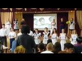 Выступление учеников Изюмской Гимназии №3 к 75-годовщине освобождения Изюма