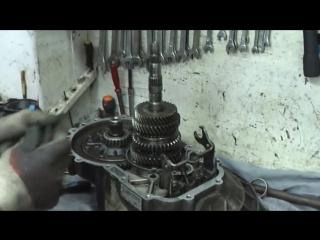 Чери Амулет - VW Гольф 2. коробка. ремонт