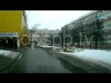 Видео момента взрыва на Народного ополчения