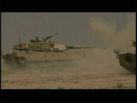 Iraqi Army M1A1 SA Abrams Live Fire