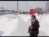 Когда пытаешься найти свою машину утром после снегопада.