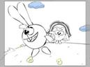 Смешарики водные процедуры анимашки
