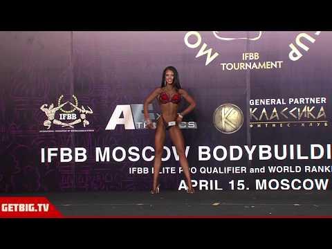 Дарья Горелышева - 2 место на Moscow Bodybuilding Cup - 2018 (фитнес-бикини, до 164 см)