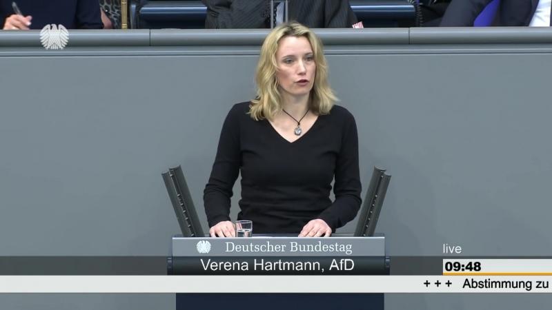 Verena Hartmann (AfD) Was wären Sie ohne uns