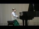 Элечка 2 класс музыкальной школы