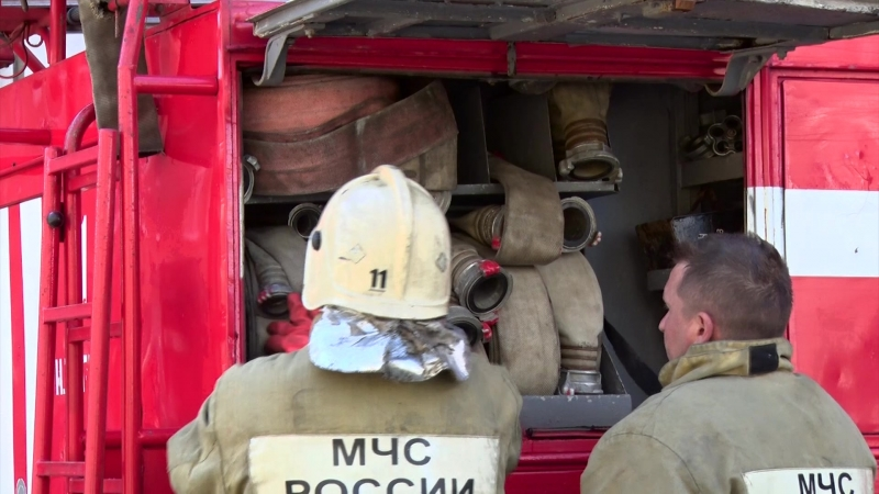 Противопожарные учения. 23.05.18