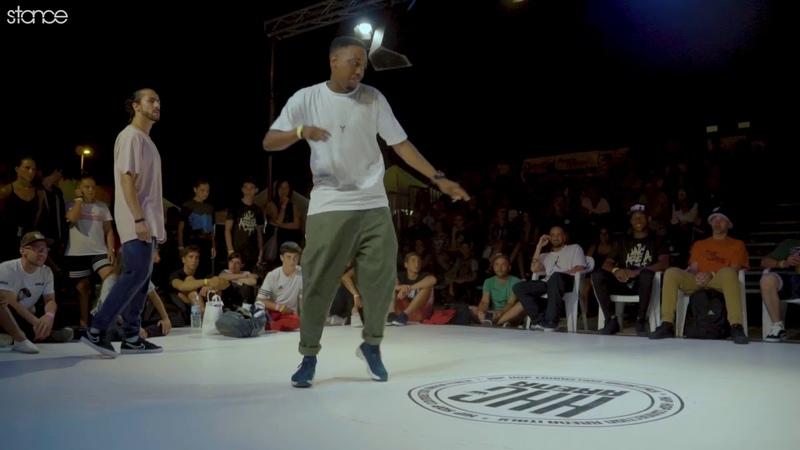 Alessandrina Berta vs Jimmy Joker semi stance Hip Hop Connection Arena 2018