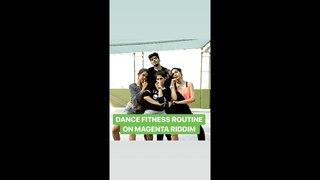 Dance Fitness Routine   Megenta Riddim   Dj Snake   Zumba Latest Videos   Vijaya Tupurani