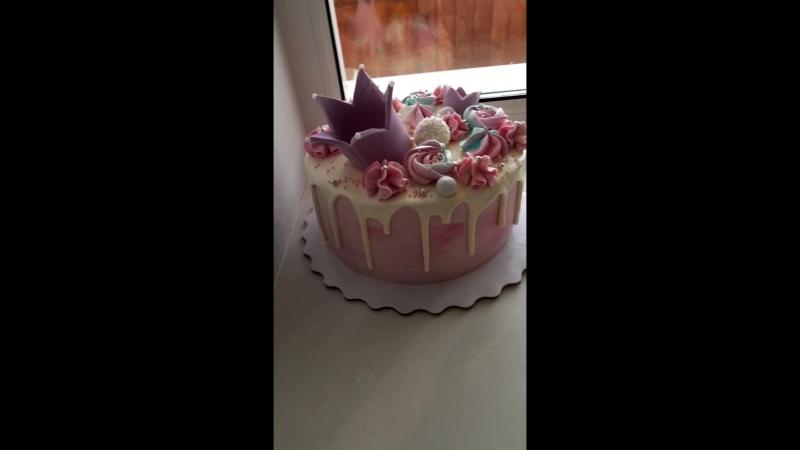 Тортик для принцессы👑