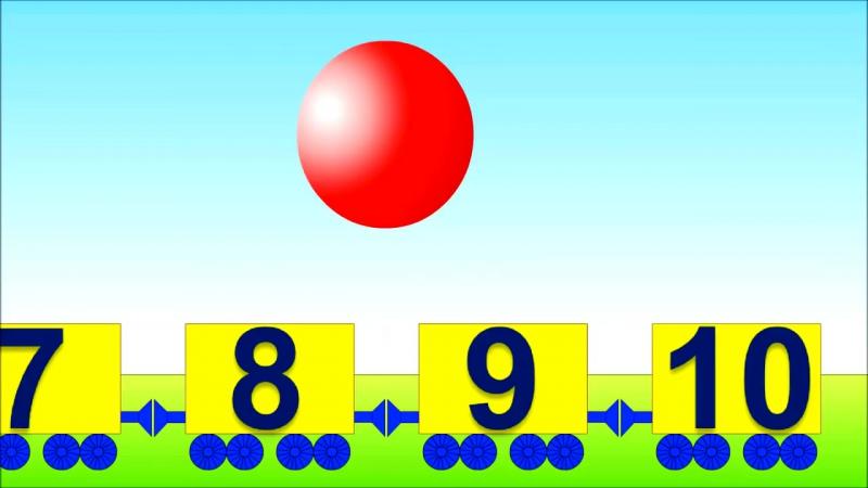 Развивающие мультики. Математика для малышей- Учимся считать от 1 до 10 и обратно » Freewka.com - Смотреть онлайн в хорощем качестве