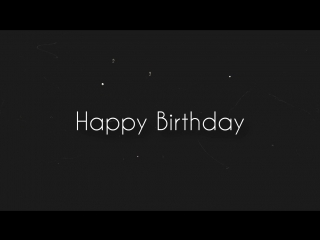Happy Birthday, Yan♥🎉