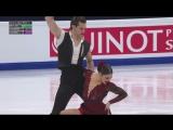 European Championships 2018. Ice Dance - FD. Laurence FOURNIER BEAUDRY / Nikolaj SORENSEN