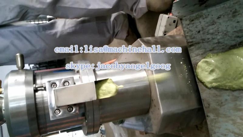 Green Chili Paste Making Machine|Green Pepper Sauce Grinding Machine