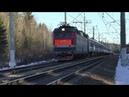 Электровоз ЧС7 038 с поездом № 025 Москва Минск
