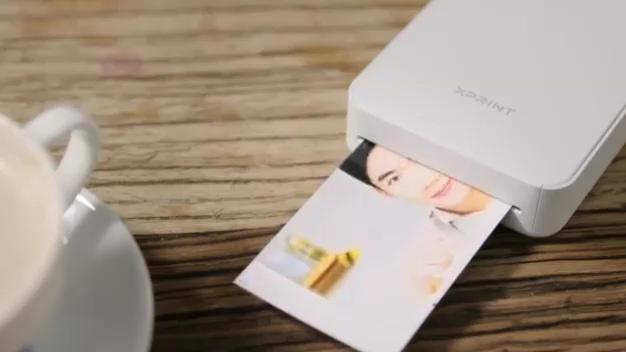 Xiaomi Xprint карманный AR фотопринтер смотреть онлайн без регистрации