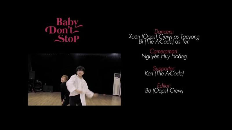 NCT U - Baby Dont Stop - Dance Cover by Xoan (Oops! Crew) x Bi (The A-Code)