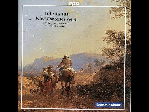 Telemann Wind Concertos CD 4