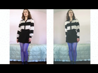 Tights LOOKBOOK - Hosiery Outfit - How to Wear Stockings - Tights OOTD