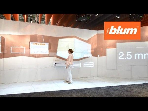 Стенд фирмы Blum на выставке interzum 2015 в Кёльне