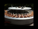 How to rewire rebuild a washing machine motor to make a generator or brushless m