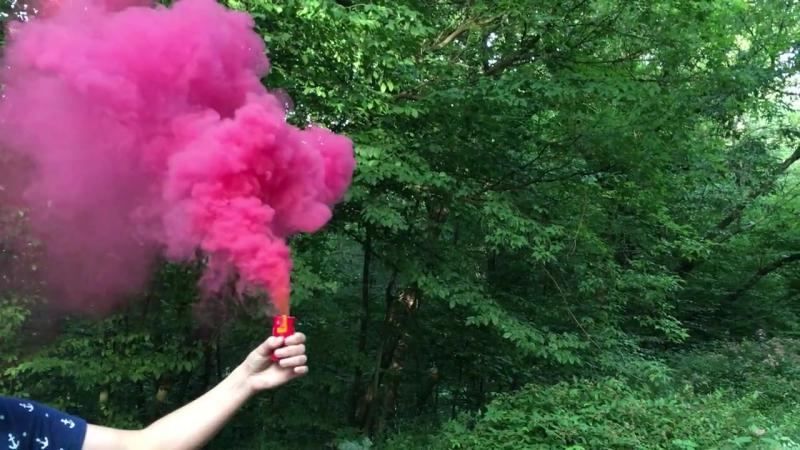 Цветной дым Триплекс