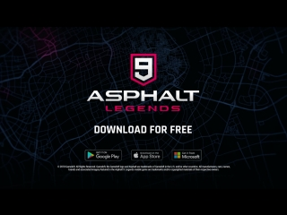 Asphalt 9: Легенды - Трейлер игры