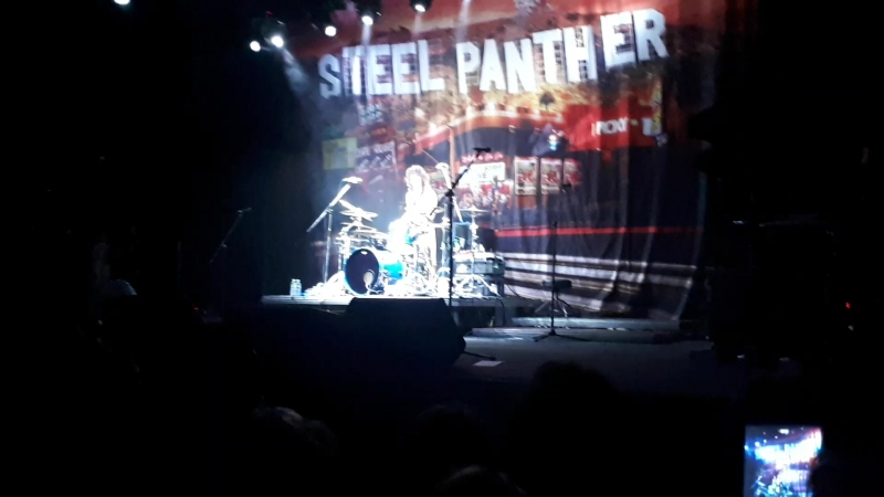 Blazing Satchel Solo Steel Panther Moscow 27 06 2018